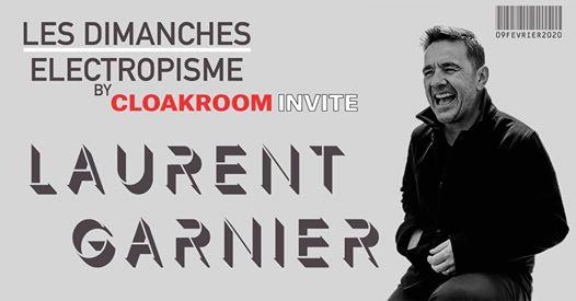Cloakroom Invite XXL Laurent Garnier