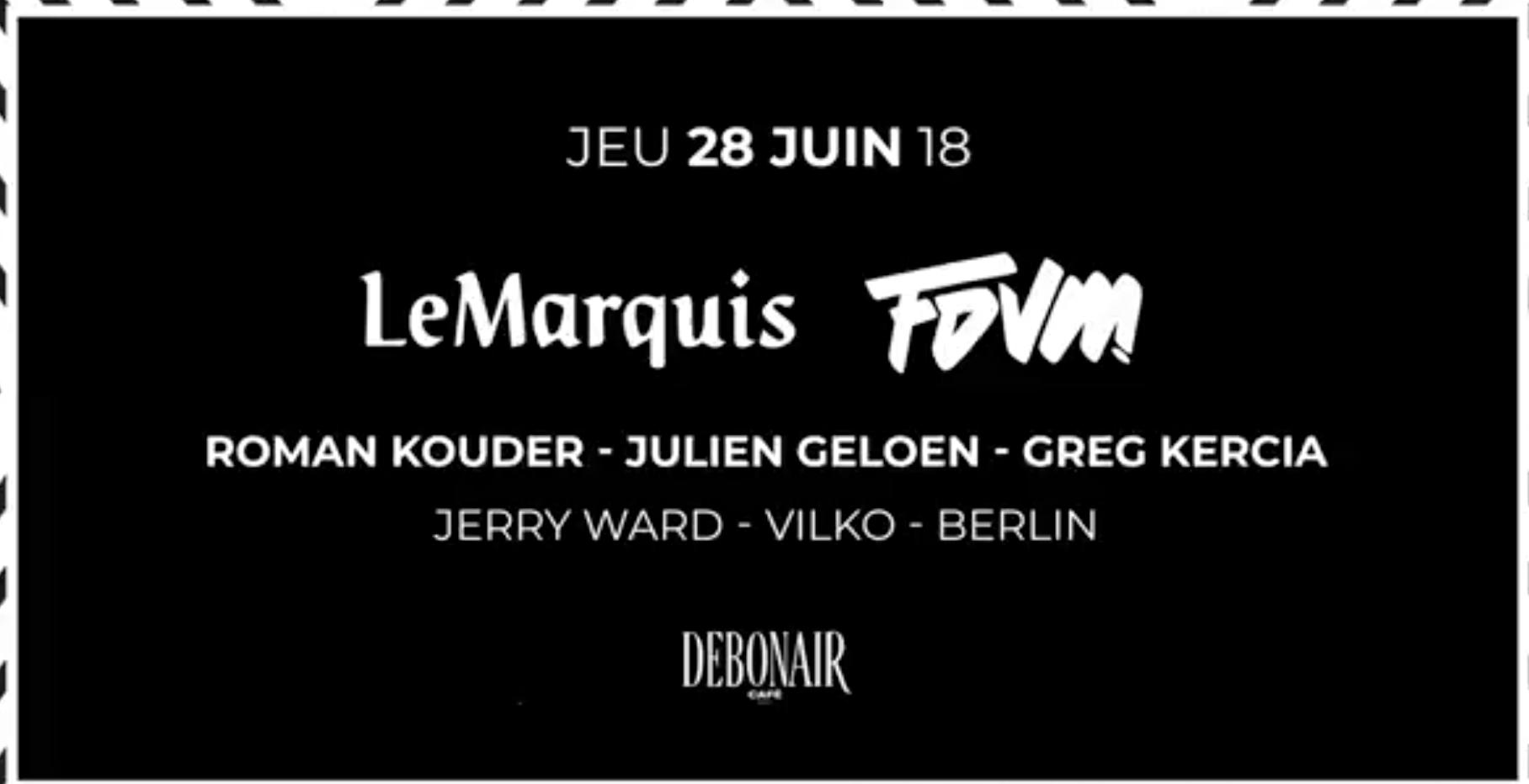 Midnight invite LeMarquis&FDVM