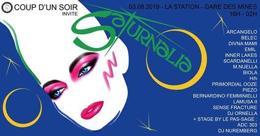 Coup d'un soir : Saturnalia Festival ⎜16h - 02h⎜