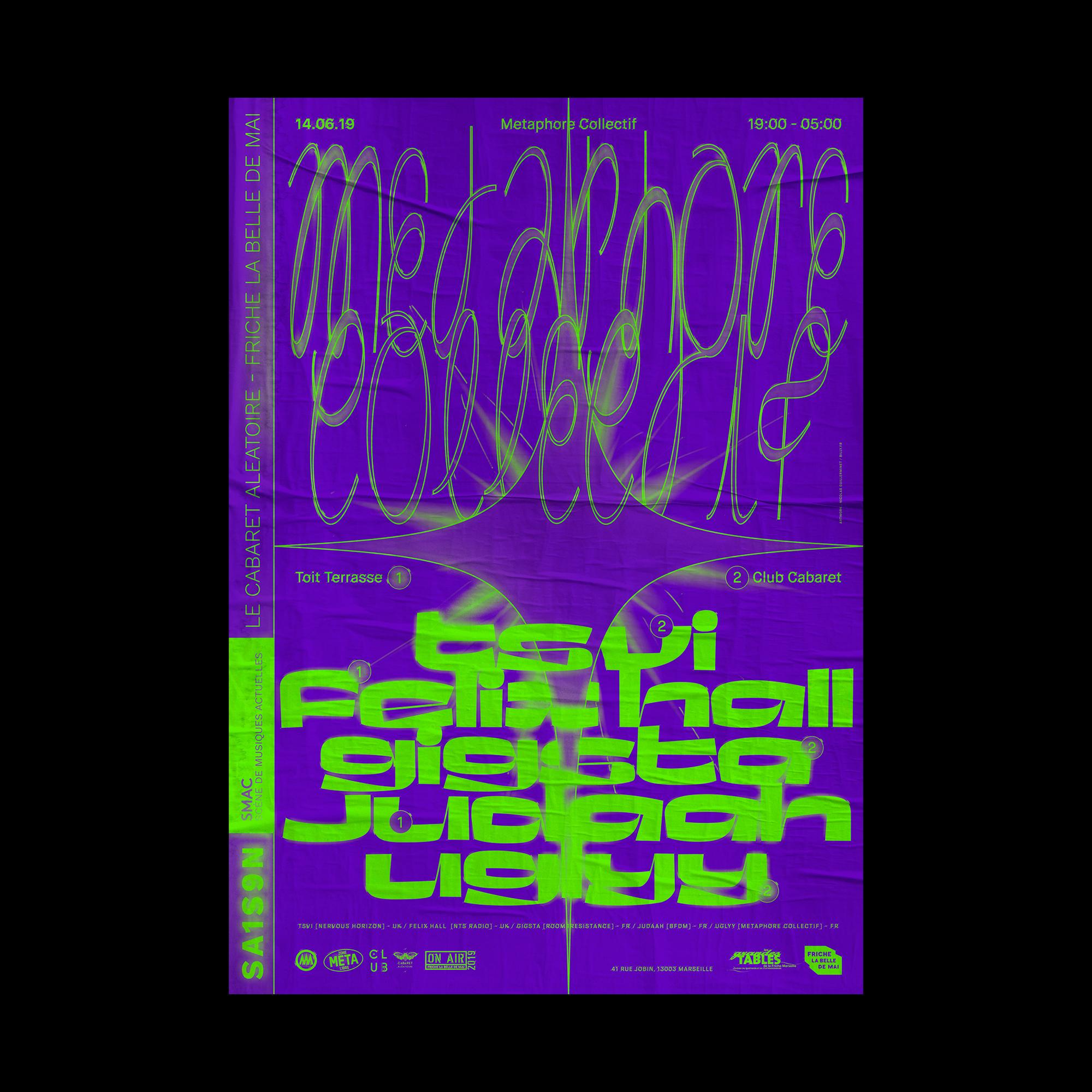 Club Cabaret x Metaphore Collectif : TVSI + Gigsta + Uglyy