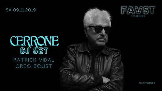 Faust: Cerrone, Patrick Vidal, Greg Boust