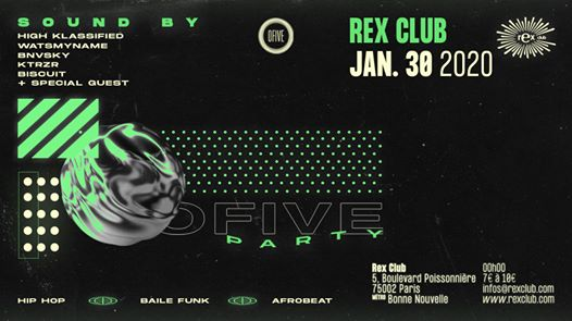 OFIVE Party /w High Klassified + Specials Guests