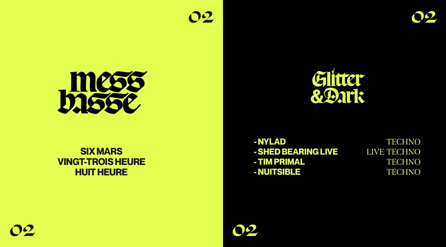 Mess Basse 002 : Glitter & Dark