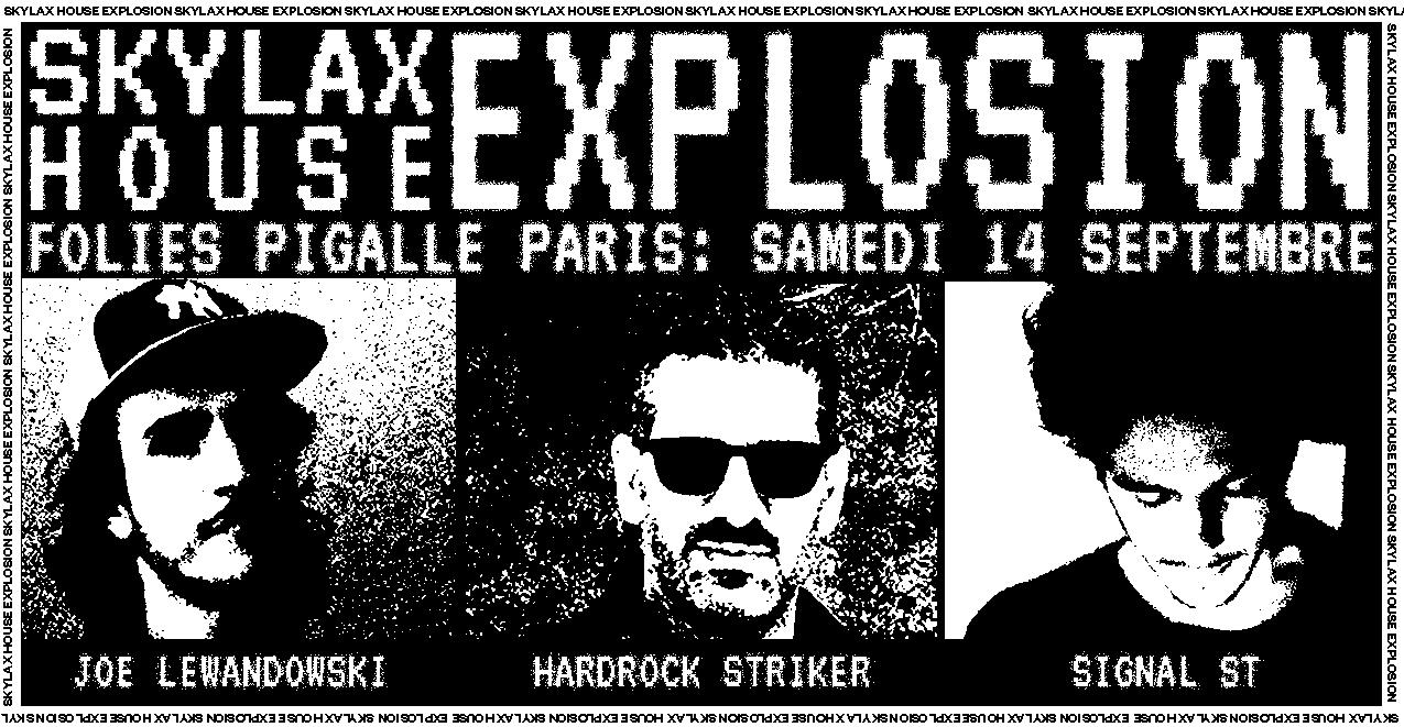 Skylax Records w/ Hardrock Striker, Signal ST & Joe Lewandowski