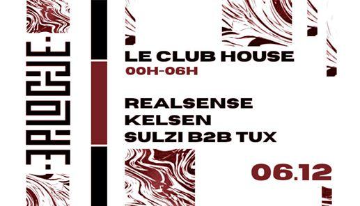 Les Epilogues #3 - VEN 06 DEC - Le Club House