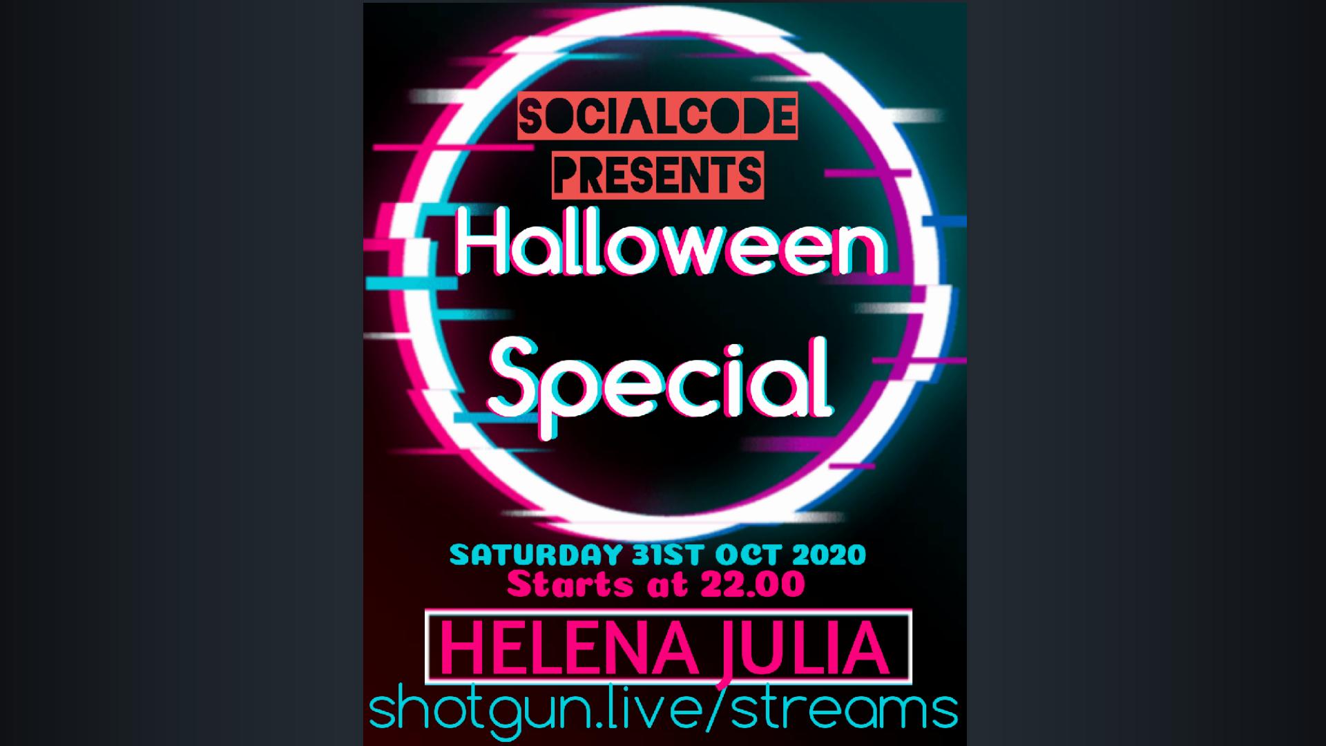 SOCIALCODE presents Helena Julia | UK 🇬🇧