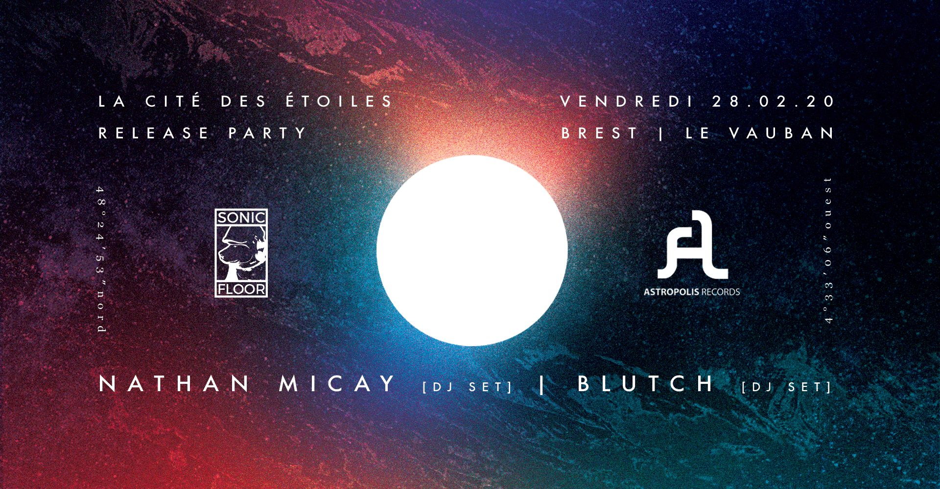 La Cité des Etoiles Release Party w/ Nathan Micay + Blutch