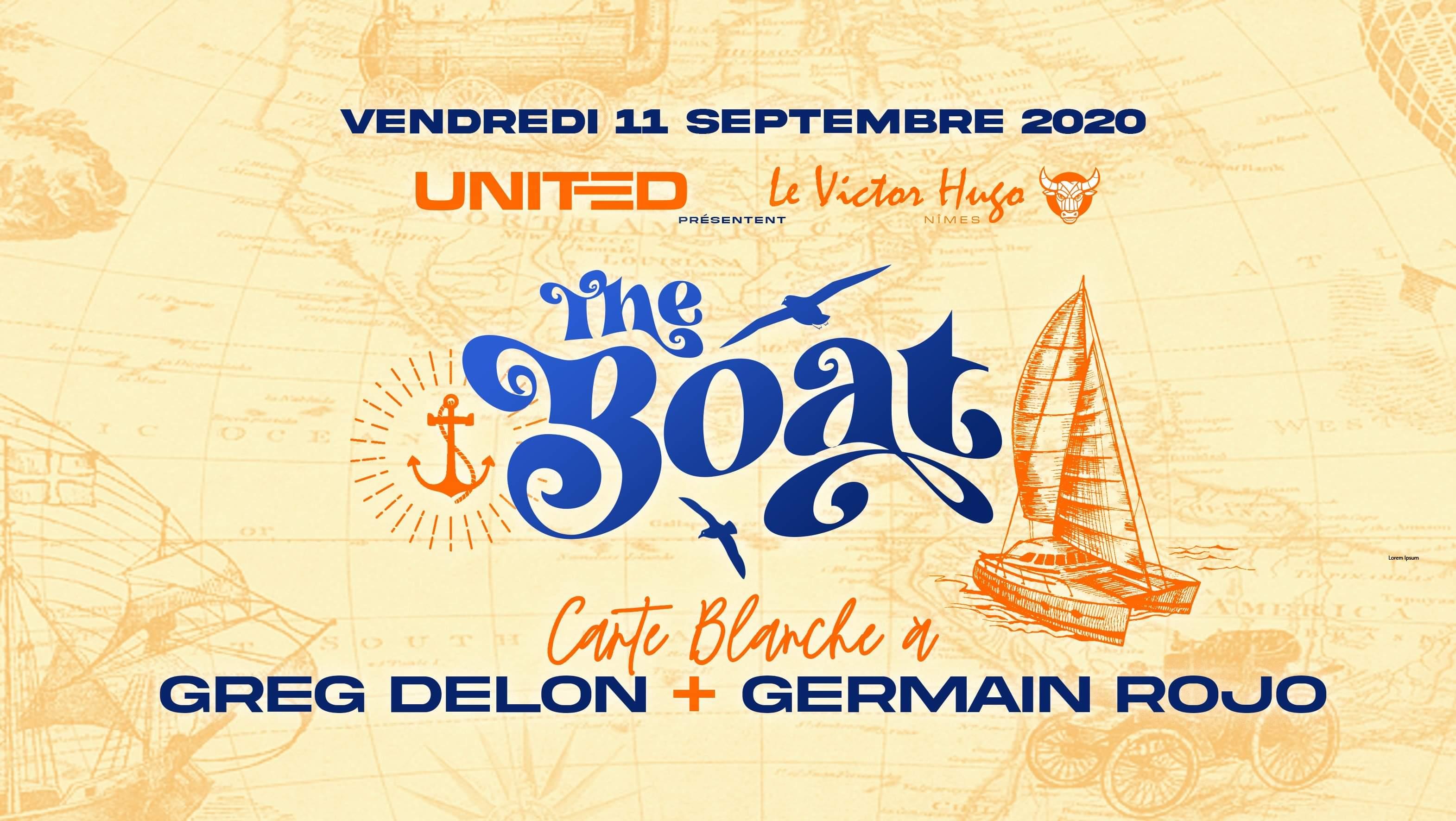 The BOAT y United : carte blanche à Greg Delon & Germain Rojo