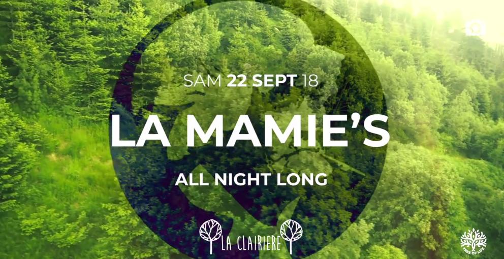 Reporté ! La Clairière : La Mamie's All Night Long