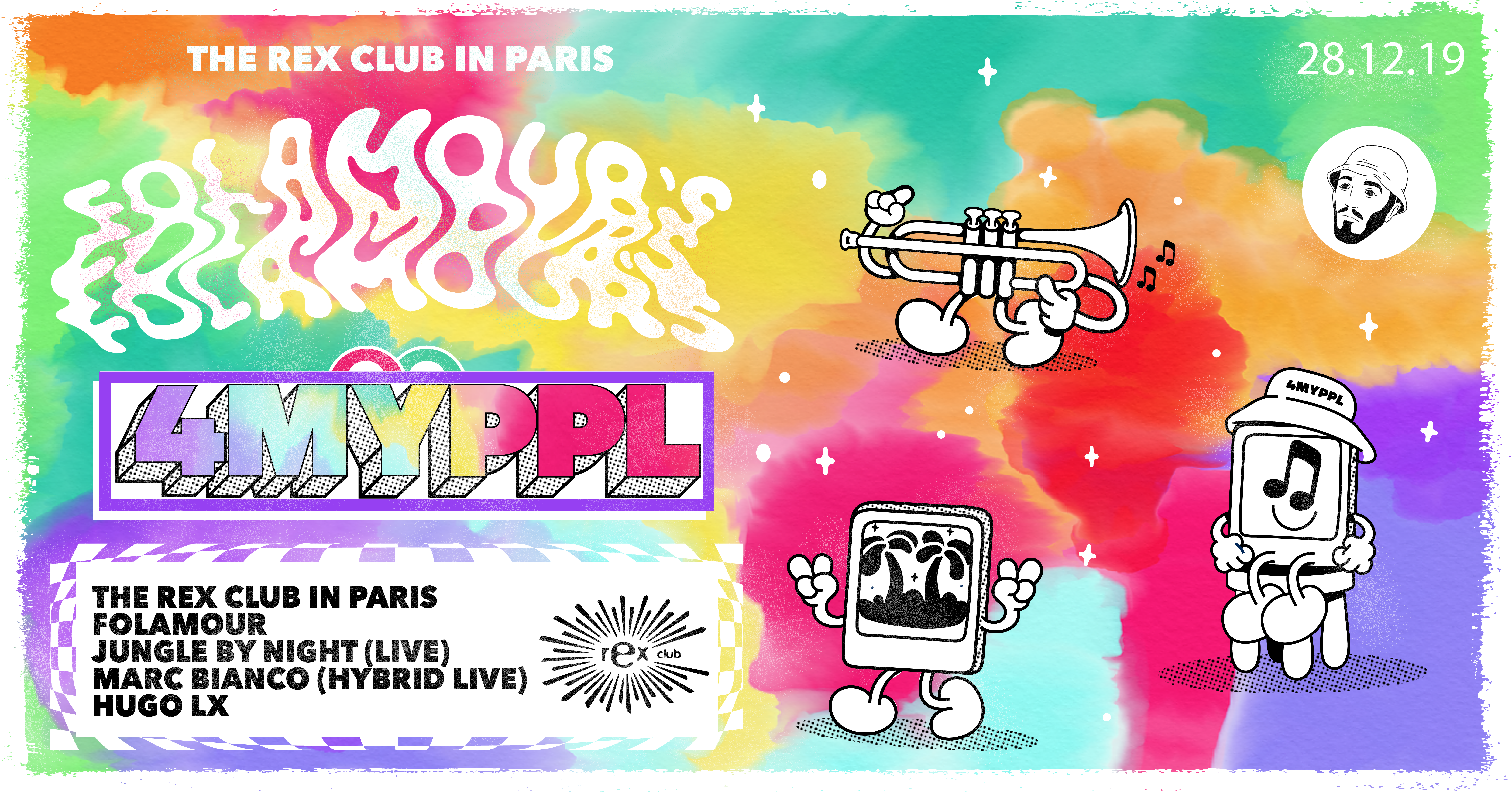 Folamour 4myppl Residency: Jungle By Night (Live) & more