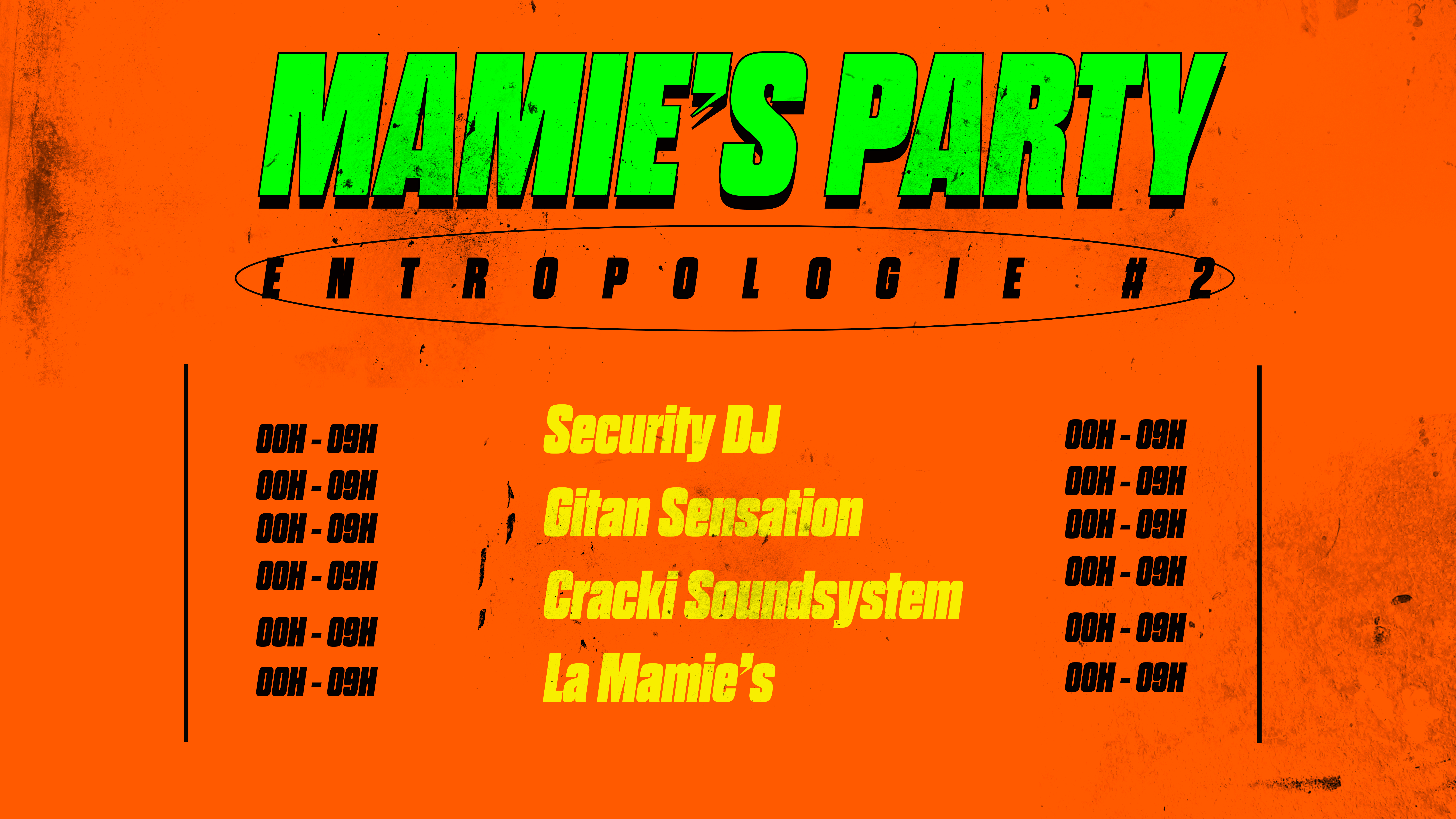 Mamie's Party : Entrepologie #2