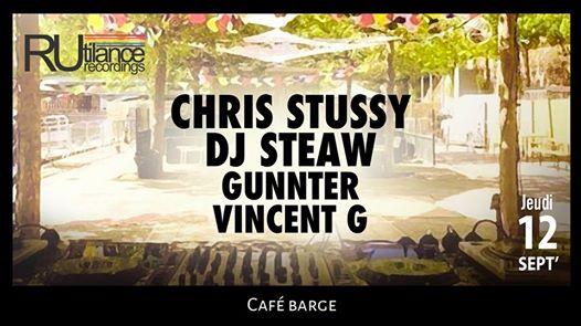 Les barges x Rutilance Rec: Chris Stussy : Dj Steaw : Gunnter