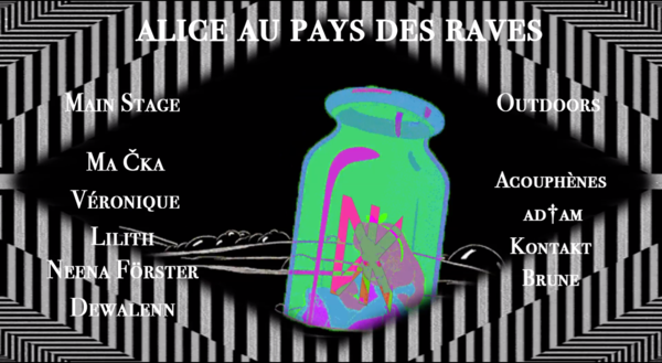 Demain Kollectiv #19 - Alice au pays des Raves