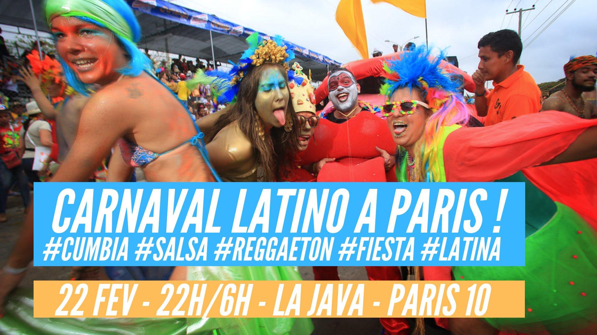 Carnaval Latino à Paris !
