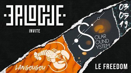 EPILOGUE invite Solar Sound System et Langougou