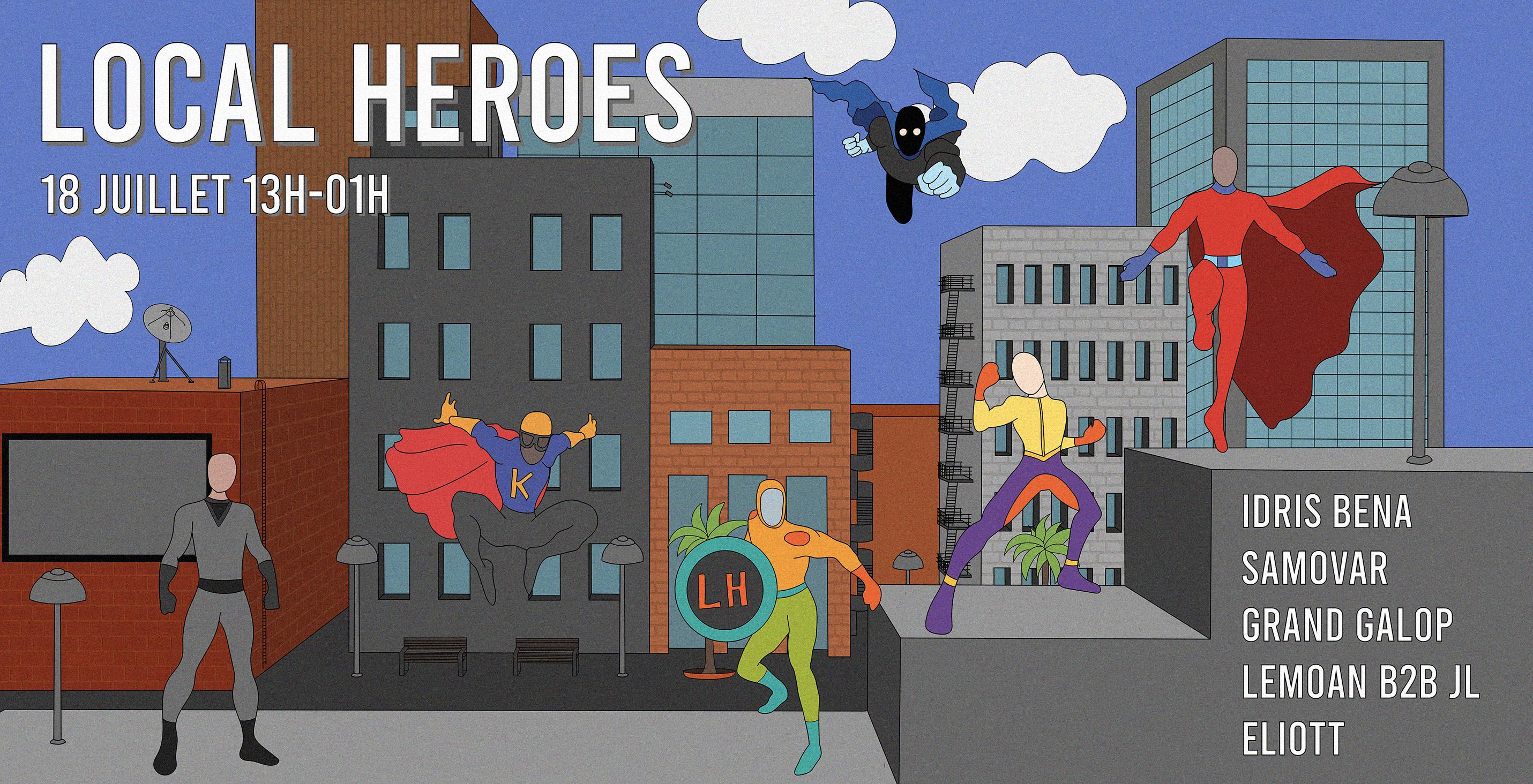 Local Heroes x L'espace Imaginaire (OPEN AIR)