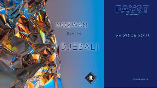 Reset: Nozwan invite Djebali
