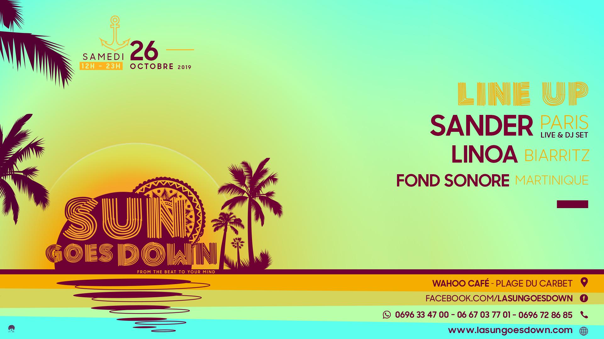 LA SUN GOES DOWN - SANDER (live) / LINOA / FONDSONORE