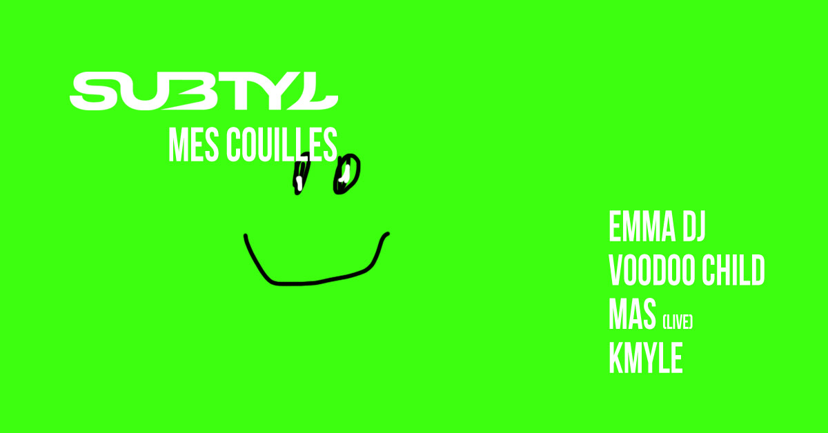 Subtyl x Fusion Mes Couilles