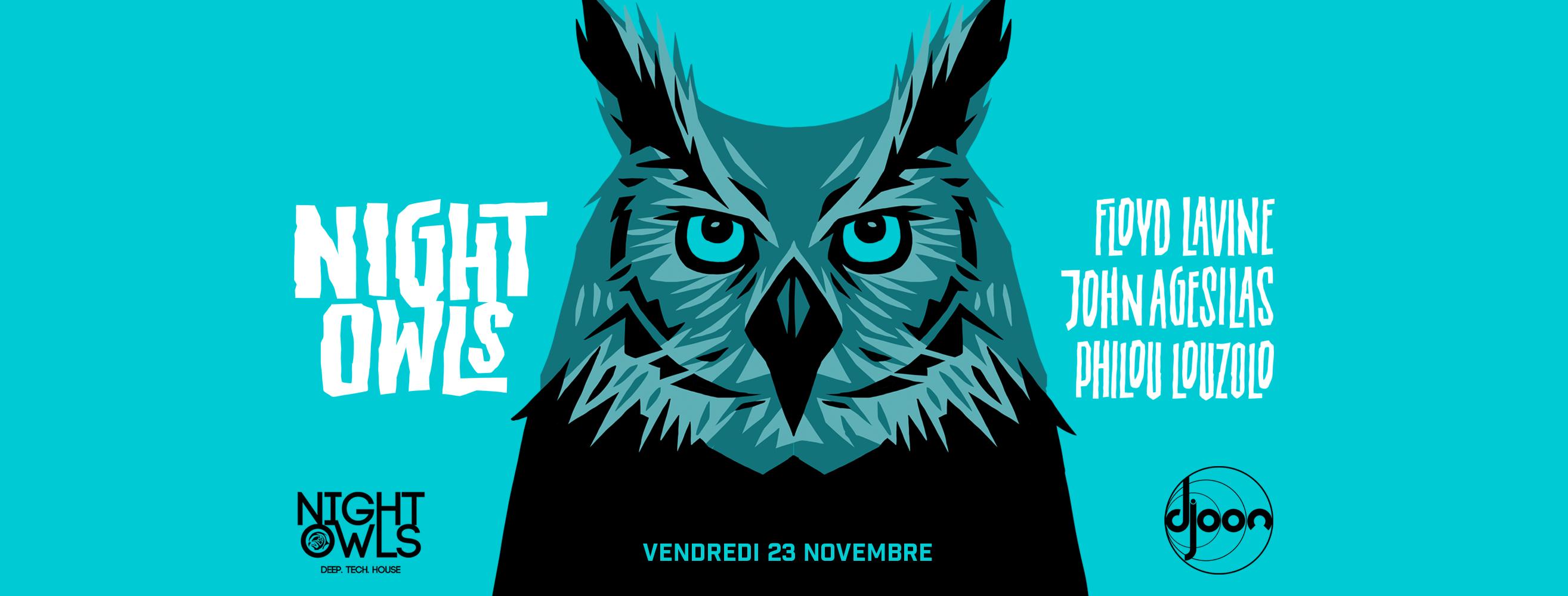 Night Owls: Floyd Lavine, John Agesilas, Philou Louzolo