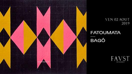 Faust w/ Chambord aka Fatoumata & Bagô