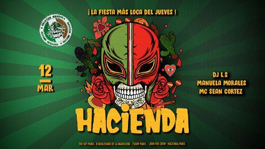 Hacienda ᚕ Edición Mexico ᚕ Jueves 12 de Marzo