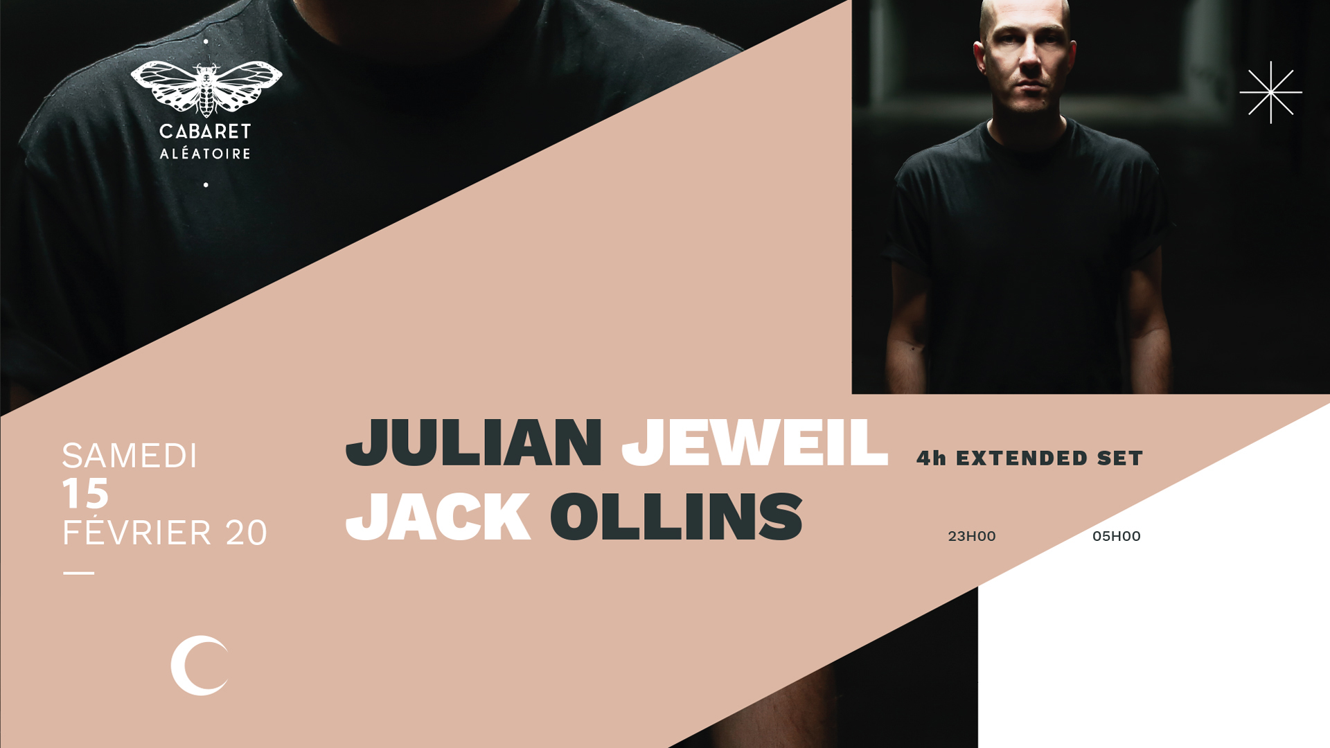 JULIAN JEWEIL [Extended set- 4H] + JACK OLLINS