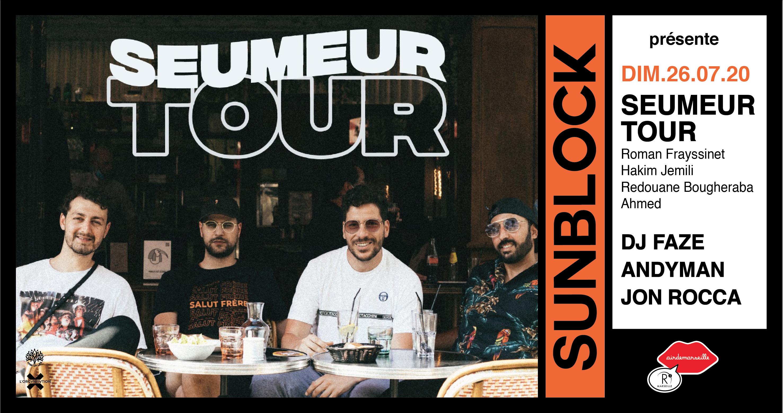 R2 Rooftop Sunblock x Seumeur TOUR