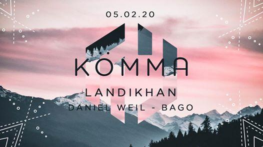 KÖMMA Paris + Landikhan (Woomoon Ibiza), Daniel Weil and Bagô