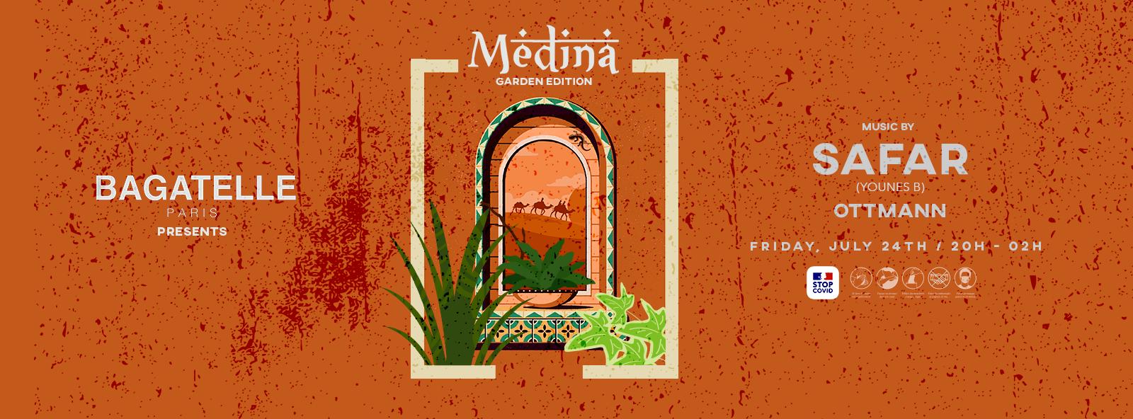 Bagatelle Paris presents Medina