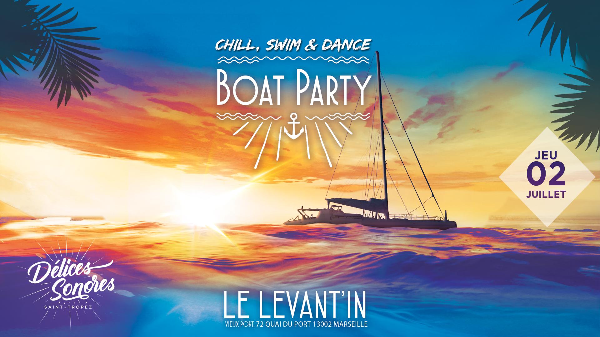 Delices sonores Boat Party