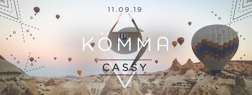 Opening Saison 2 x KÖMMA Paris w/ Cassy