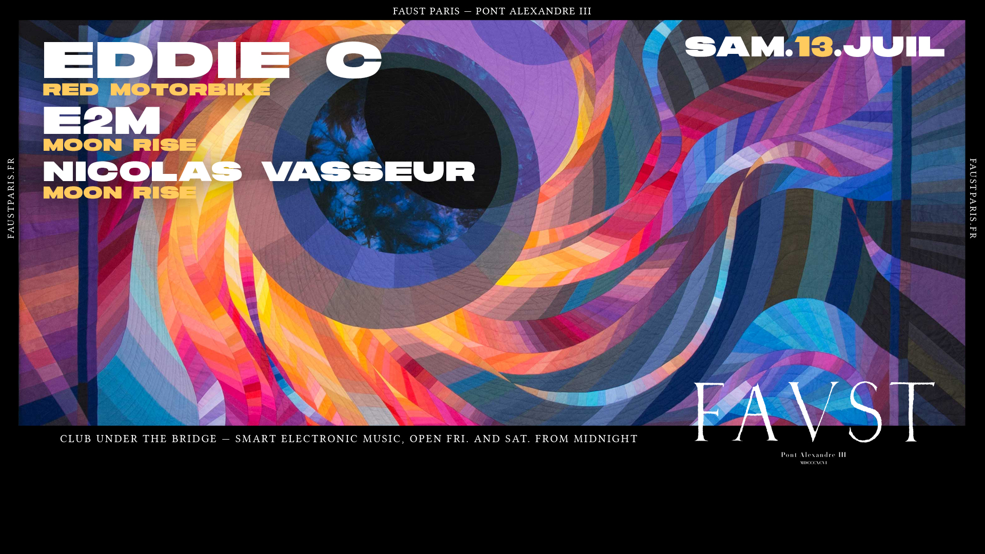 Faust w/ Eddie C - E2M & Nicolas Vasseur
