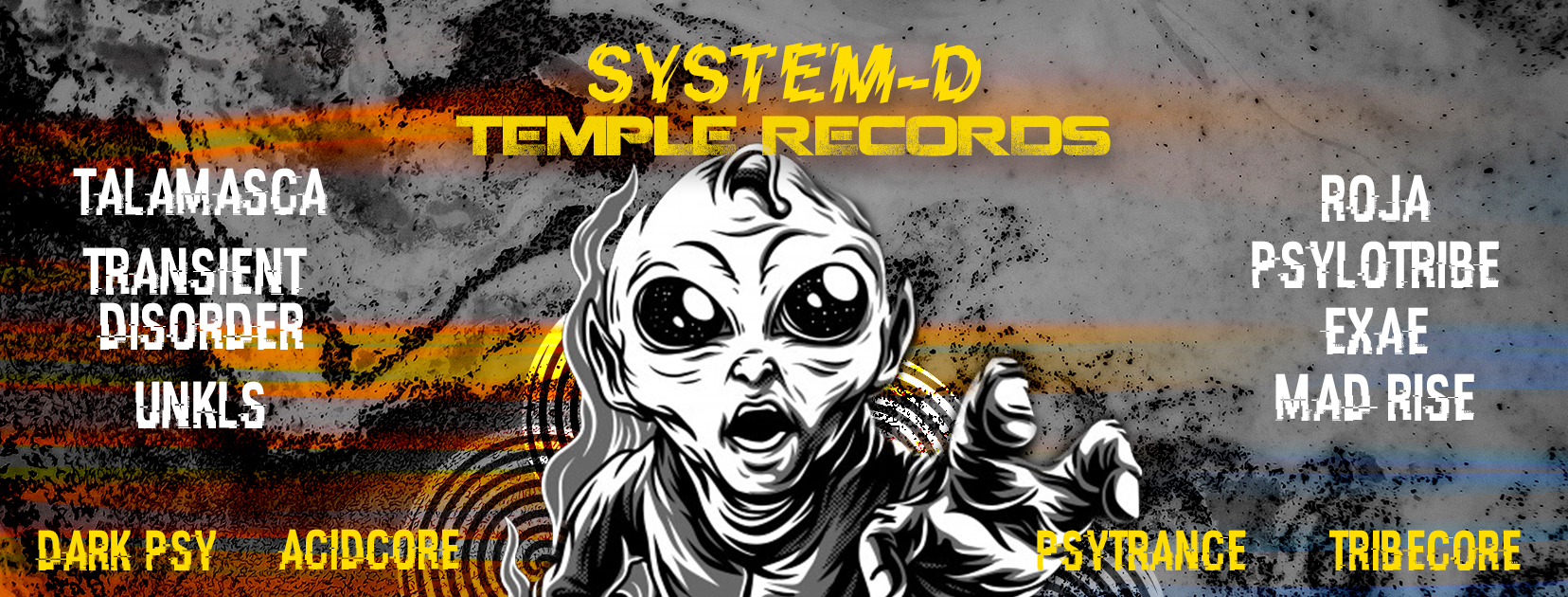 System - D x Temple Records
