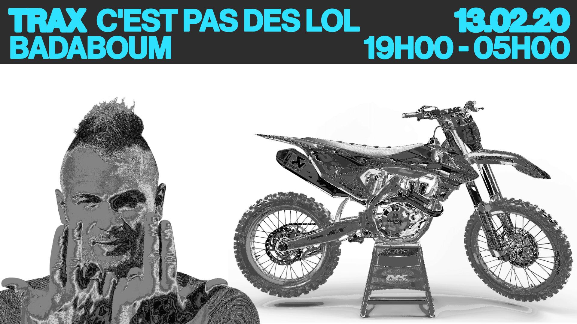 C'est pas lol by Trax w/ Andy 4000 & Trax dj family