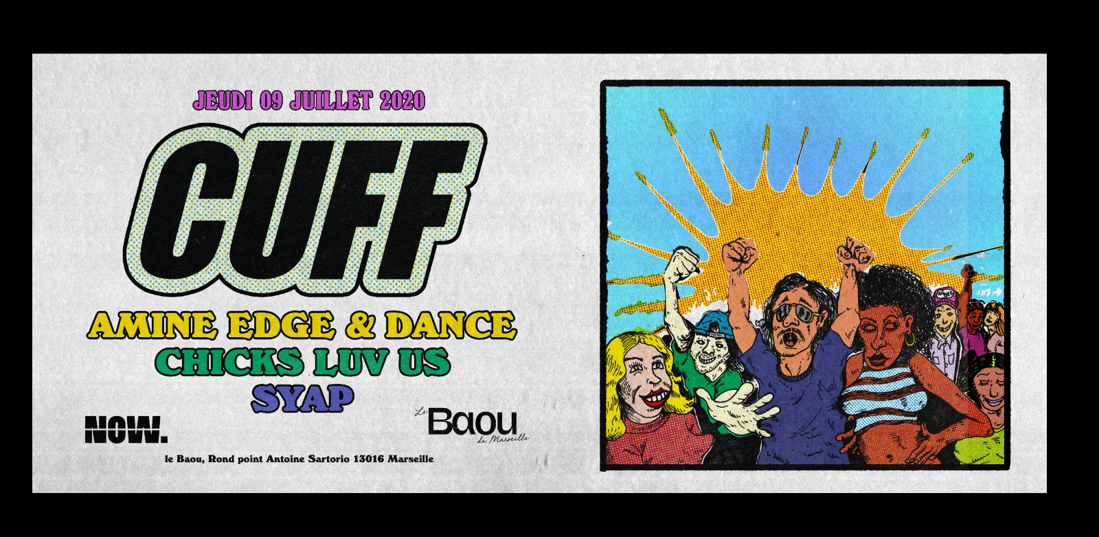 Baou : CUFF x Now. w/ amine edge and dance