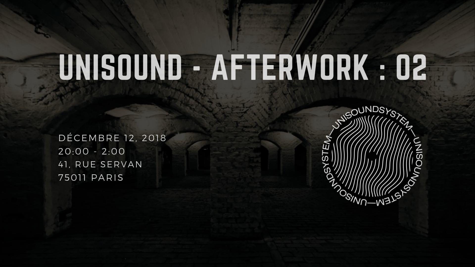 UNISOUND : Afterwork 02