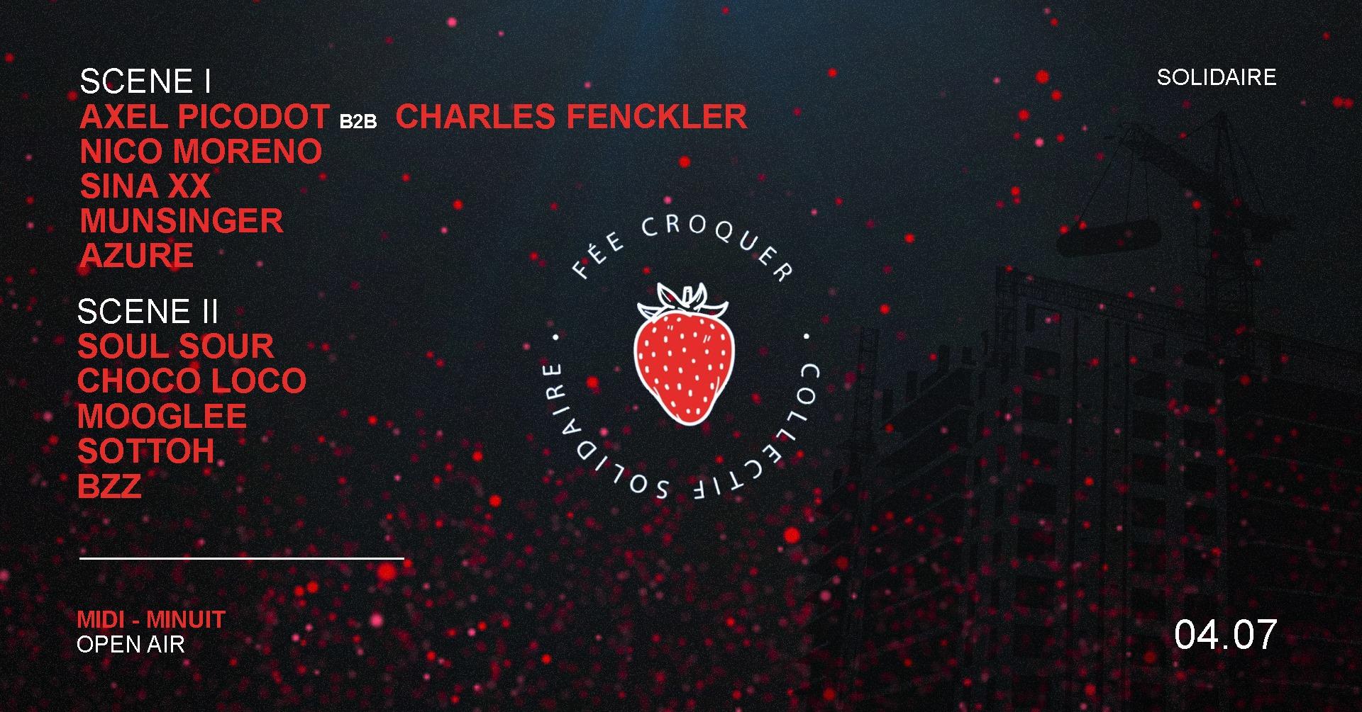 Fée croquer / 2 scène / Open air / 12h-00h