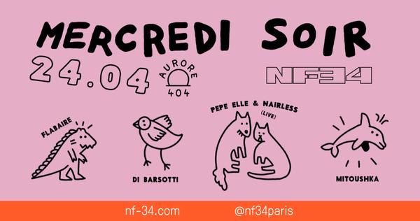 Mercredi Soir : Aurore 404 invite Flabaire