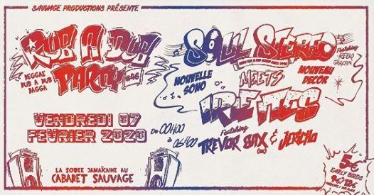 Rub A Dub Party#46 - Soul Stereo Meets Irie Ites & Trevor Sax
