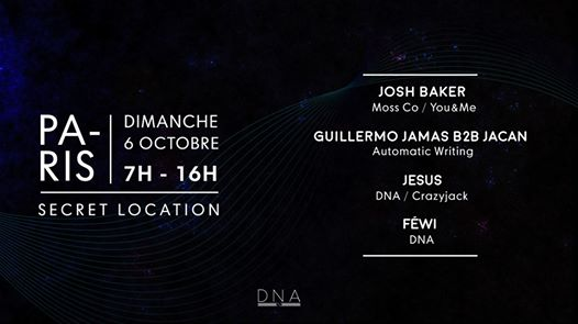 DNA after party w/ Josh Baker x Automatic Writing x Jesus x Fewi