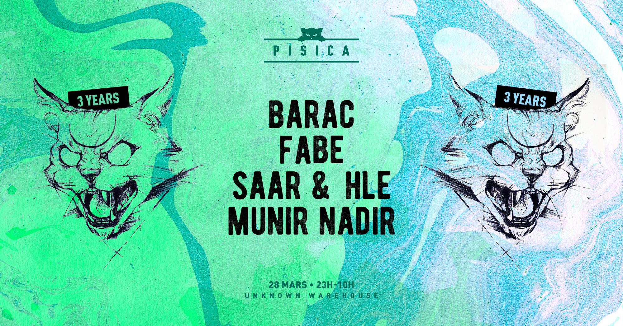 Pisica 3 ans : Barac, Fabe & More