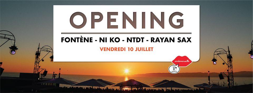 Rooftop x L'organisation / Opening Season 20 / Rayan Sax