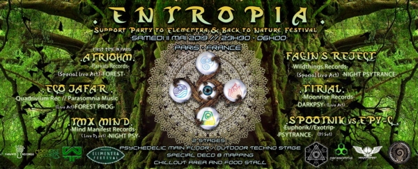 ENTROPIA // 2 STAGES | ATRIOHM | FAGIN'S REJECT and more