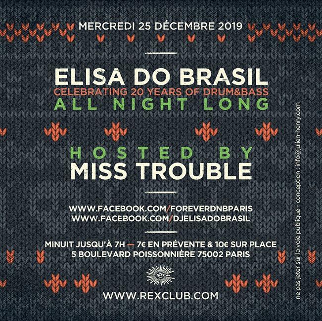 Forever Dnb Jungle Bells: Elisa Do Brasil & Miss Trouble