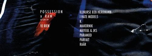 Possession x Raw