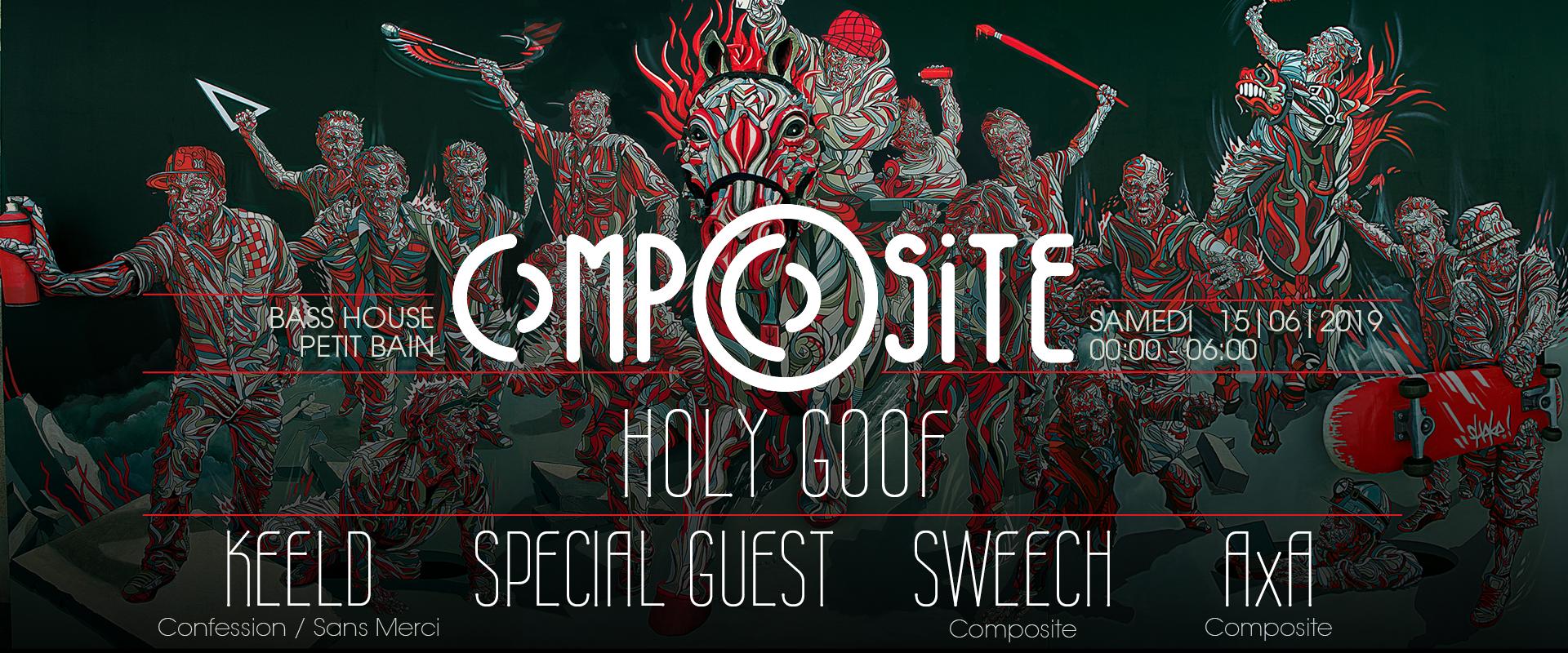 CompOsite w/ Holy Goof / Keeld / Castnowski / Sweech / AxA