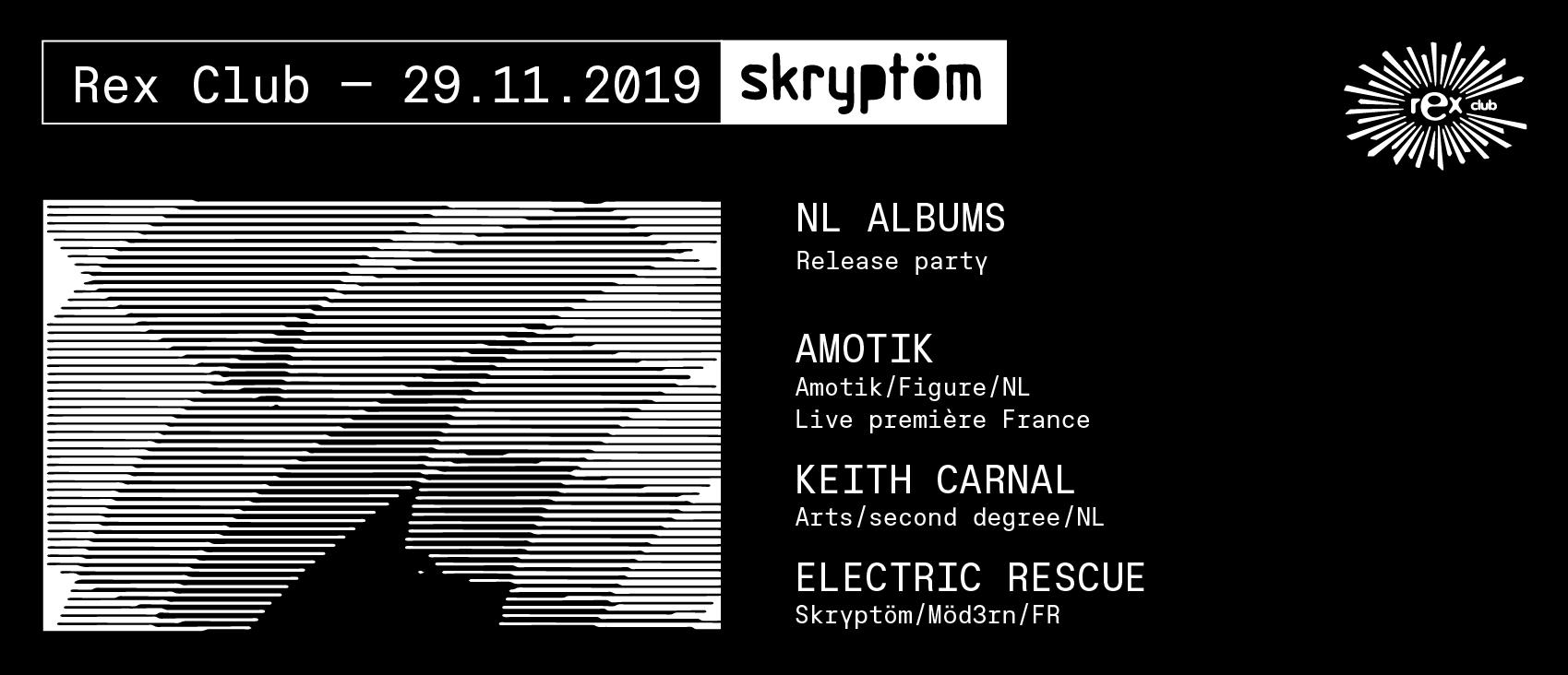Skryptöm: Amotik Live, Keith Carnal, Electric Rescue