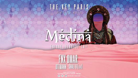 The Key Paris presents Medina with FNX Omar (Hob Edition)