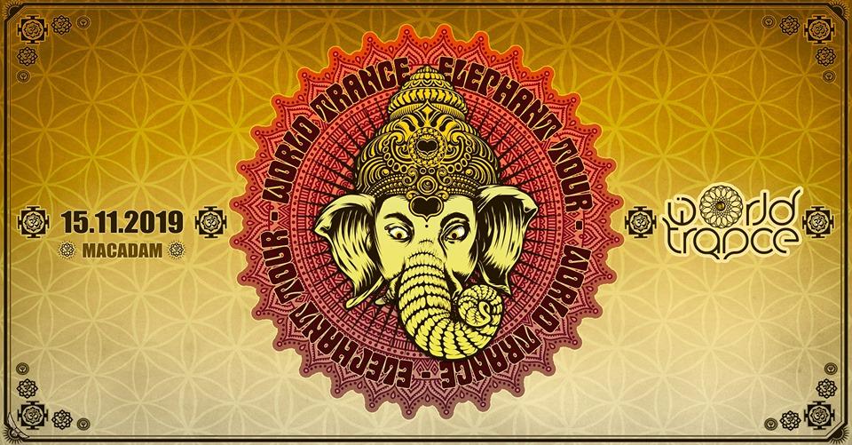 World Trance - Elephant Tour w/ Kalki, Unlogix Macadam